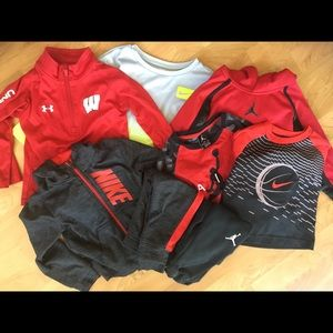 Boys 24 month & 2T Nike and Underarmour